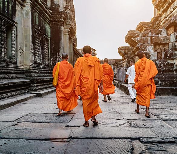 Angkor Wat Discovery - Golden Temple Retreat - Siem Reap Cambodia